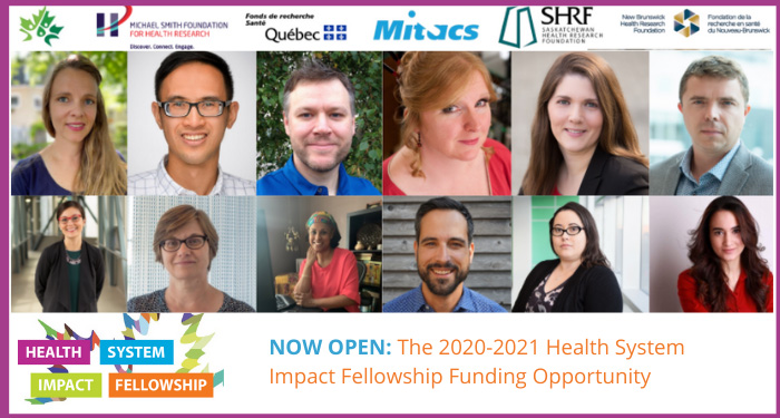 NOW OPEN: The 2020-2021 Health System Impact Fellowship Funding Opportunity